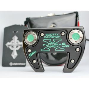 スコッティキャメロン カスタムパター Futura X5R welded neck Straight shaft Monster Skull The Art Black & Green|cameron-himawari