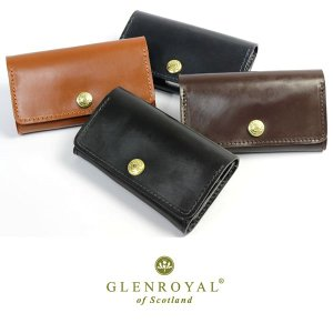 GLENROYAL グレンロイヤル カードケース 名刺入れ メンズ ブランド ブライドルレザー 本革 03-6131|cameron