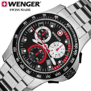 f02a9f5570 WENGER ウェンガー バタリオン クロノグラフ メンズ 腕時計 70798 バタリオン クロノシ.