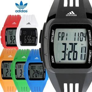 ADIDAS アディダス DURAMO MID パフォーマンス 腕時計 デジタル クオーツ 5気圧防水 デジタル表示 ストップウォッチ カレンダー ポリウレタン ADIDAS10
