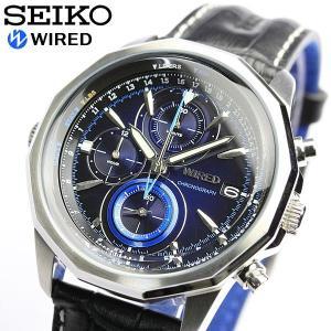 セイコー 腕時計 SEIKO セイコー 腕時計 ワイアード クロノグラフ クロノ AGAW422 メ...