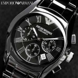 EMPORIO ARMANI エンポリオアルマーニ クロノグラフ 腕時計 メンズ AR1400...