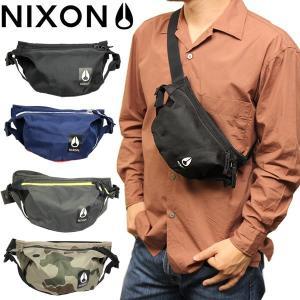 エントリーでポイント最大15倍 NIXON ニクソン パック ボディバッグ 斜め掛け 鞄 bag シ...