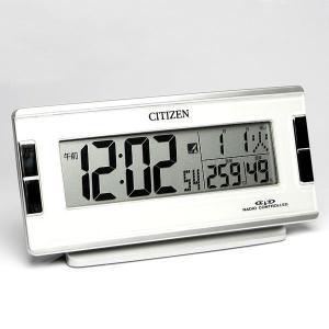 エントリーで目覚まし時計 ソーラー電波時計 シチズン CITIZEN デジタル|cameron