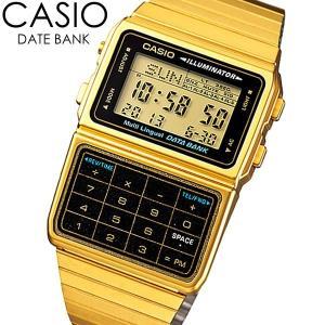 CASIO カシオ チープカシオ チプカシ 腕時計 ウォッチ クオーツ 日常生活防水 データバンク dbc-611g-1|cameron