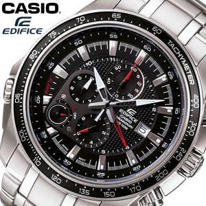 【送料無料】 CASIO EDIFICE カシオ エディフィス 腕時計 ウォッチ メタルバンド メンズ 男性用 クオーツ 10気圧防水 クロノグラフ ブラック EF-545D-1AV|cameron