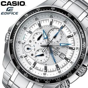 【送料無料】 CASIO EDIFICE カシオ エディフィス 腕時計 ウォッチ メンズ 男性用 クオーツ 10気圧防水 クロノグラフ ホワイト EF-545D-7AV|cameron