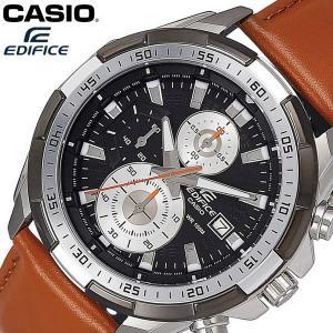 【送料無料】 CASIO EDIFICE カシオ エディフィス 腕時計 ウォッチ メンズ 男性用 クオーツ レザー 10気圧防水 クロノグラフ EFR-539L-1BV|cameron