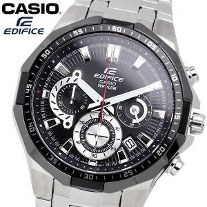 casio EDIFICE カシオ エディフィス クオーツ 腕時計 メンズ クロノグラフ ストップウォッチ 10気圧防水 カレンダー 日付 ステンレス ウォッチ EFR554D1A|cameron
