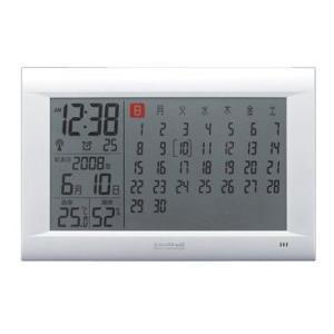 エントリーで電波時計/置時計/置き時計/目覚まし時計/電波/インテリア/おしゃれ/デジタル|cameron