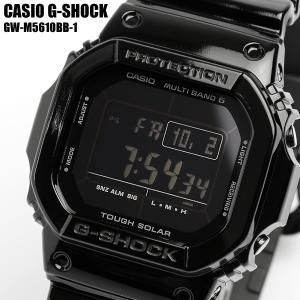 カシオ G-SHOCK CASIO 電波ソーラー 腕時計 メンズ GW-M5610BB-1ベースモデ...
