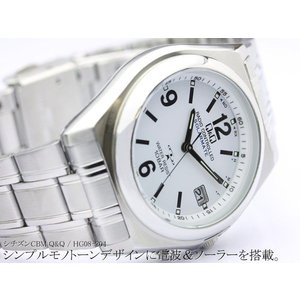 シチズンCBM Q&Q 電波ソーラー腕時計 メンズ HG08-204 腕時計 電波 ソーラー|cameron
