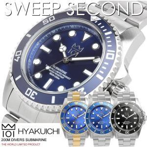 HYAKUICHI 101 ヒャクイチ 腕時計 ウォッチ メ...