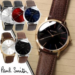 ポールスミス Paul Smith 腕時計 メンズ 革ベルト MA 41mm ブランド 人気...