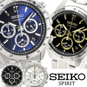 エントリーでP5倍 SEIKO SPIRIT セイコー スピリット 腕時計 ウォッチ メンズ クオーツ 10気圧防水 デイトカレンダー seiko-rg17