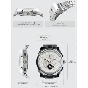 サルバトーレマーラ 腕時計 メンズ クロノグラ...の詳細画像4