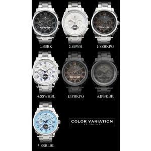 サルバトーレマーラ 腕時計 メンズ クロノグラ...の詳細画像5