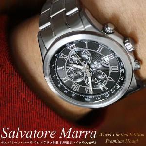 サルバトーレマーラ 限定モデル クロノグラフ腕時計 メンズ ...