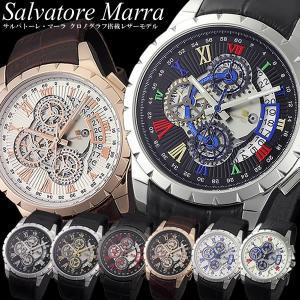 サルバトーレマーラ クオーツ メンズ クロノグラフ 腕時計 SM13119あの腕時計ランキング上位常...