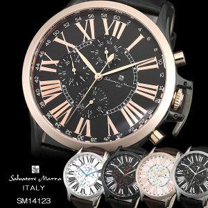 Salvatore Marra サルバトーレマーラ 腕時計 ウォッチ メンズ 男性用 クオーツ 日常...