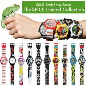限定モデル Q&Q Smile Solar スマイルソーラー 腕時計 メンズ レディース ウォッチ 人気 ブランド|cameron