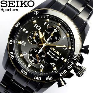 セイコー SEIKO 腕時計 スポーチュラ メンズ クロノグ...
