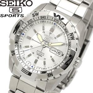 エントリーでP10倍 seiko 5 SPORT セイコー ファイブ スポーツ 腕時計 ウォッチ メンズ 自動巻き 10気圧防水 シースルーバック snzj03js1 cameron