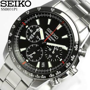 クロノグラフ セイコー SEIKO 腕時計 クロノグラフ メンズ 腕時計 SSB031P1