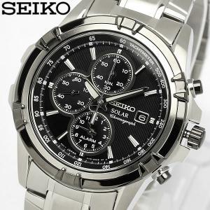 セイコー SEIKO 腕時計 海外モデル ソーラー アラーム クロノグラフ メンズ SSC147P1|cameron