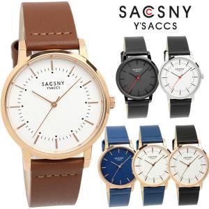 サクスニーイザック 腕時計 メンズ レディース 革ベルト レザー 薄型 シンプル ブランド 人気 SY-15137