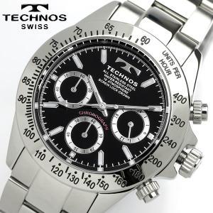 エントリーでP5倍 TECHNOS テクノス メンズ クロノグラフ 腕時計 TGM615SB TECHNOS テクノス 腕時計
