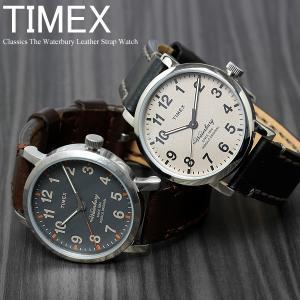 ポイント最大20倍 TIMEX タイメックス 腕時計 メンズ ウォーターベリー クラシック 革ベルト レザー TW2P58700 TW2P58800