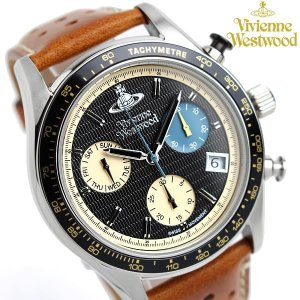 【Vivienne Westwood】ヴィヴィアンウエストウッド クロノグラフ 腕時計 ブランド レ...