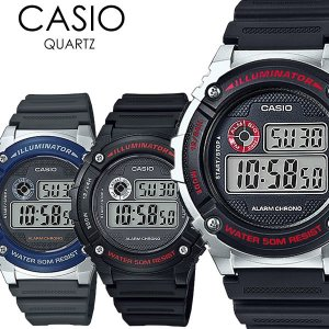 CASIO カシオ 腕時計 ウォッチ メンズ レディース ユニセックス クオーツ 5気圧防水 ストップウォッチ|cameron