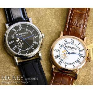 【disney_y】ミッキーマウス ミッキー 腕時計 革ベルト ミッキーマウス ミッキー 腕時計|cameron