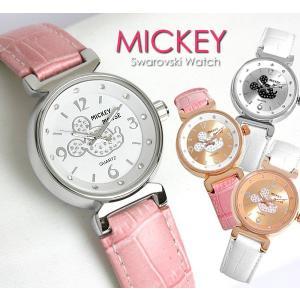 ミッキーマウス ミッキー 腕時計 革ベルト レディース レディス 腕時計 革ベルト ギフト【disney_y】|cameron