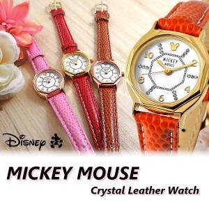 ミッキー 腕時計 ミッキーマウス スワロフスキー ウォッチ ミッキー 腕時計|cameron