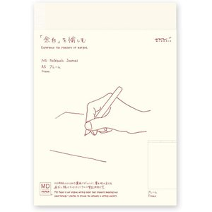 ミドリ ノート MDノート A5 ジャーナル フレーム「ミドリ/デザインフィル」|cameshouse