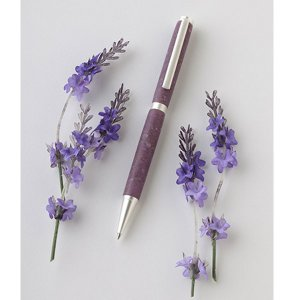 「Merrily Made(メリーメイド)」ガーデンコレクション ボールペン Lavender 「ラベンダー」  「ネコポス・宅配便コンパクトOK」|cameshouse