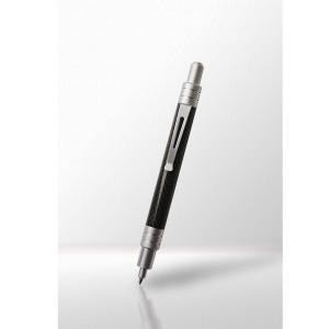 カーボンボールペン ノック式 アルミカラー 「LQIMIA」ルキミア 「宅配便コンパクトOK」|cameshouse