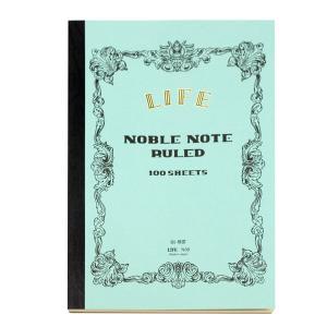ノーブルノート B5 横罫「ライフノート」  「ネコポス・宅配便コンパクトOK」|cameshouse