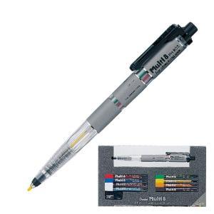 ぺんてる マルチ8セット 「1本で8色の色鉛筆シャープ」|cameshouse