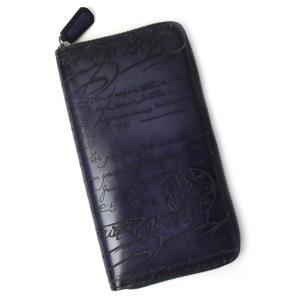ベルルッティ (BERLUTI) 人気の長財布。 全面に施された手書きで書かれた様なデザインはベルル...