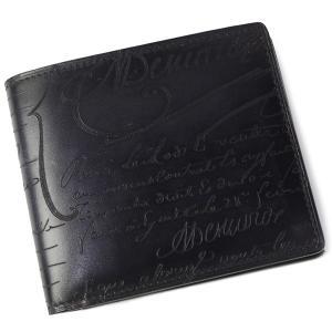 ベルルッティ (BERLUTI) 人気の折り財布。 ベルルッティを代表するデザイン、カリグラフィー。...
