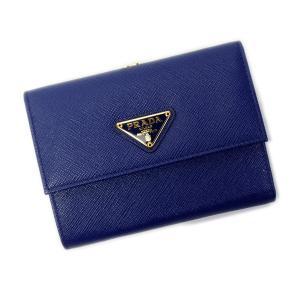 プラダ PRADA 財布 折財布 がま口 1ME392 SA...