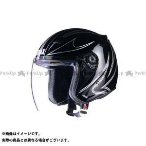 リード工業 STRAX SJ-9 ジェットヘルメット カラー:ブラック サイズ:L LEAD工業