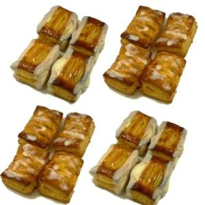 (冷凍パイ生地)お手軽パイ生地セット(ミニアップルパイ・ミニクリームチーズとブルーベリーのパイ)|campagne