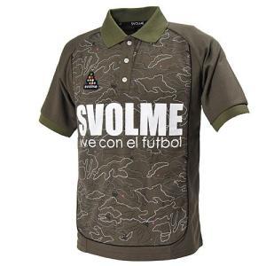 SVOLME スボルメ 迷彩柄ポロシャツ XSサイズ 121-59226 KHAKI カーキ