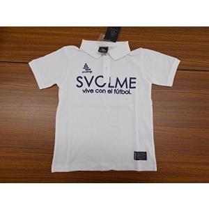 SVOLME スボルメ ジュニア ロゴポロシャツ 162-17110 150サイズ ホワイト