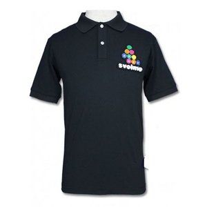 SVOLME スボルメ BIGロゴポロシャツ Sサイズ 162-17610 010 BLACKブラッ...